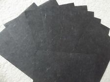 20 SHEETS MULBERRY / SCRAPBOOK PAPER, GREAT FOR CARDS, BLACK