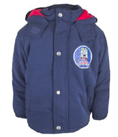 THOMAS THE TANK ENGINE: NAVY WINTER COAT,2/3,3/4,4/5,5/6YRS, new with tags
