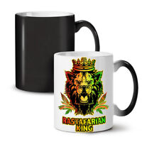 Lion Weed Stoner Rasta NEW Colour Changing Tea Coffee Mug 11 oz | Wellcoda