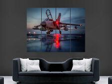 Póster de pared de aviones Tornado GR4 Jet Ejército milatary Foto Impresión Grande Enorme