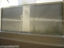 photo plaque verre STEREO vue d une cote port depuis un bateau BOAT SEA