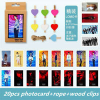Kpop GOT7 Polaroid Lomo Photo Card Spinning Top JB Mark HD Collective Photocard