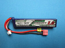 TURNIGY NANO-TECH 1000MAH 3S 11.1V 20C 40C LIPO BATTERY AIRSOFT DEANS T PLUG RC