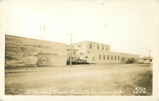 SUNNYSIDE WASHINGTON EVAPORATED FRUIT PRODUCTS COMPANY ELLIS REAL PHOTO POSTCARD