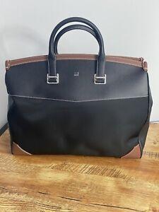 Dunhill Bag 100% Leather Duke Weekender Mashup Hold-all  BNWT Black RRP £1795