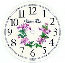 5.3/4 inch FLORAL CLOCK DIAL