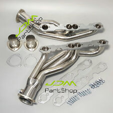 For 88-97 CHEVY u/ GMC C/K GMT400 5.0 /5.7 V8 PICK UP TRUCK/SUV STAINLESS HEADER