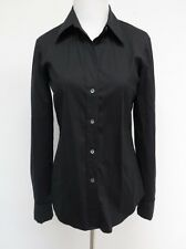 Theory Luxe Stretch Cotton Long Sleeved Button Down Shirt Larissa P Petite XS S