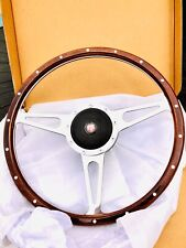 Austin Healey 3000 1953-68 ,15 Inch Derrington Woodrim Wheel And Boss