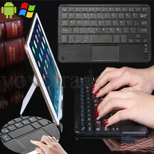 Wireless Bluetooth Keyboard For 7-10 inch Android Windows Tablet PC w/ Touchpad