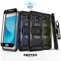 for SAMSUNG GALAXY J3 STAR / ORBIT / ACHIEVE, [Tank Series] Phone Case & Holster