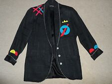 Women's Jacket Black Nice 3 Buttons Size XS by CANVASBACKS Lutton &Horsfield S/M