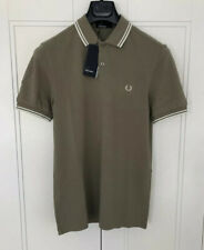 Fred Perry Men's Polo Shirt Size Small 100% Cotton Pit To Pit 19 Inches