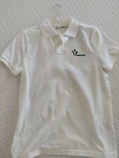 Moncler white Polo Size Small Brand New