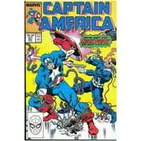 Captain America (1968 series) #351 in Near Mint condition. Marvel comics [*s3]