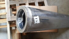 Canna fumaria coibentata tubo doppia parete 100 cm acciaio inox Ø 180 - 235 (T1
