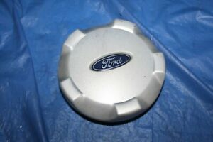 2001- 2006 Ford Escape OEM Silver Center Cap P/N YL84-1A096-EB  YL84-1A096-EA