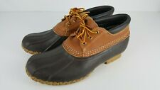 Vintage LL Bean Boot Maine Hunting Shoe Gumshoe Duck Low Boots Size 9 M