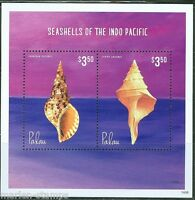 PALAU 2014 SEASHELLS OF THE CARIBBEAN SOUVENIR SHEET  II  MINT NH