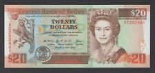 BELIZE $20 P55a 1990 QEII Central bank Uncirculated