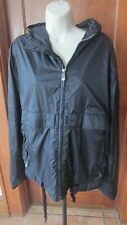BURTON JET SET Lined Black Hooded Weather Proof JACKET COAT HOOD Size XL (42)
