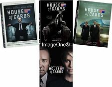 House of Cards: The Complete Series Season 1-4 DVD Set New