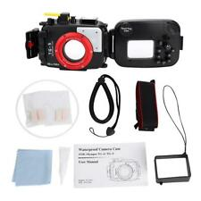 60m Underwater Waterproof Housing Diving Cover Protective Case for Olympus TG5