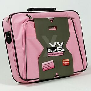 Dicota 17 Inch Business Laptop Case Bag Durable Laptops Notebook Computer Pink