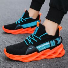 Men's Casual Trainer Running Sneakers Sports Athletic Tennis Fitness Shoes Gym