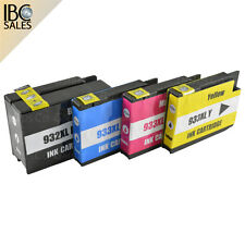 4 Cartridges For HP 932 + 933 OfficeJet 6700 Premium / 7110 / 7110 e All-in-One