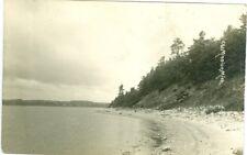Old Mission MI A Shoreline View RPPC