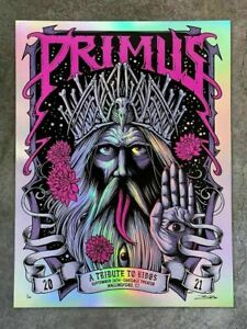 Primus Wallingford Rainbow Foil Limited Edition 40 Brandon Heart Poster IN HAND