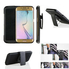 For Samsung Galaxy S7 Holster Case Cover with Belt Clip +Stand phone accessory