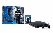 Sony PlayStation 4 Slim 500GB Console - Uncharted 4 Bundle [PS4 System] NEW