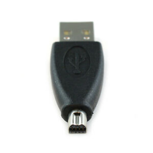 USB Standard Type A Male to Mini-B 8pin Male Adapter For OLYMPUS Cameras