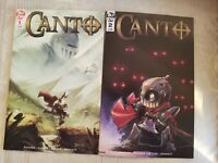 Canto # 1 2nd Print Variant * # 2 1st Print ! IDW ! Sold Out ! NM KEY BOOKS