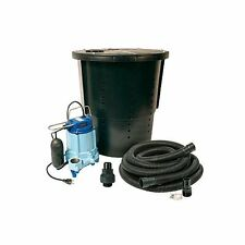 Little Giant 14940655 50 GPM 115V Pre-Packaged Crawl Space Sump System