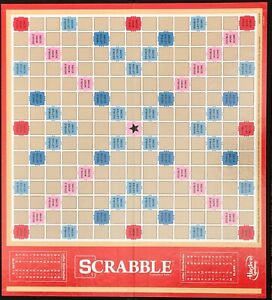 Scrabble Game Boards Individual or Lot Various Years 50 Boards Low as $2.73 Each