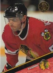 #434 Sergei Krivokrasov - Chicago Blackhawks - 1993-94 Leaf Hockey