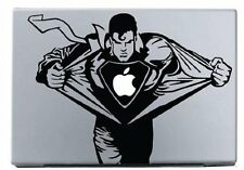 """MacBook 13"""" Superman Decal Sticker (pre-2016 MB Pro/Air only)"""
