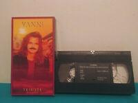 Yanni tribute VHS tape & sleeve