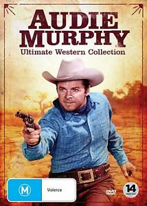 Audie Murphy: Ultimate Western Collection DVD Boxset 14 Disc (Region All /NTSC)