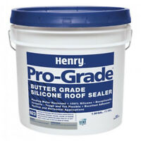 Henry Pro Grade 923 Butter Grade Silicone Roof Sealer