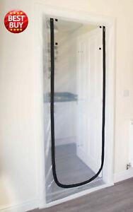 Dust Seal Stop Plastic Door DIY Polytunnels Screen Renovation  Construction AU