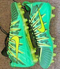 NEW Nike Alpha Menace  Football Cleats 871519-337 Green Volt Size 15