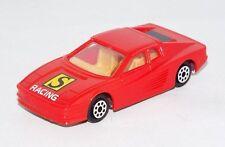 Majorette / NOVACAR #104 1 Loose Vehicle Ferrari Testarossa Red