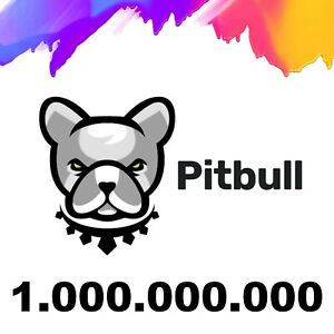 1.000,000,000 Pitbull (PIT) - 1 Billion CRYPTO MINING-CONTRACT - Crypto Currency