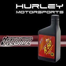 KLOTZ KL-102 / R50 Techniplate Synthetic 2-Stroke Racing Oil - 16 oz - Qty (2)