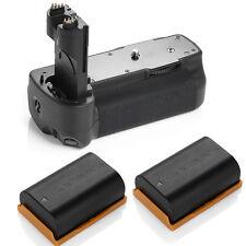 BG-E6 Pro Battery Grip for Canon EOS 5D Mark II DSLR Camera + 2x LP-E6 Batteries