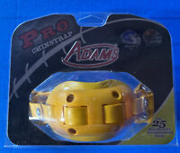 🛑👀💯👉Adams USA Football Pro Chin Strap New in Package / Yellow
